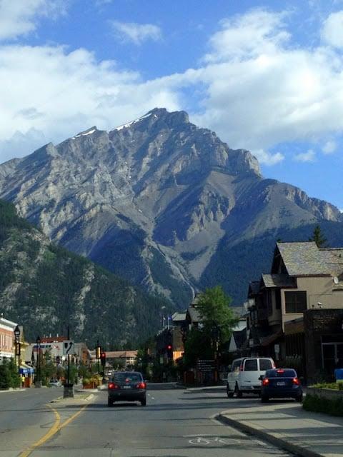 Downtown Banff Alberta Canada | BoulderLocavore.com
