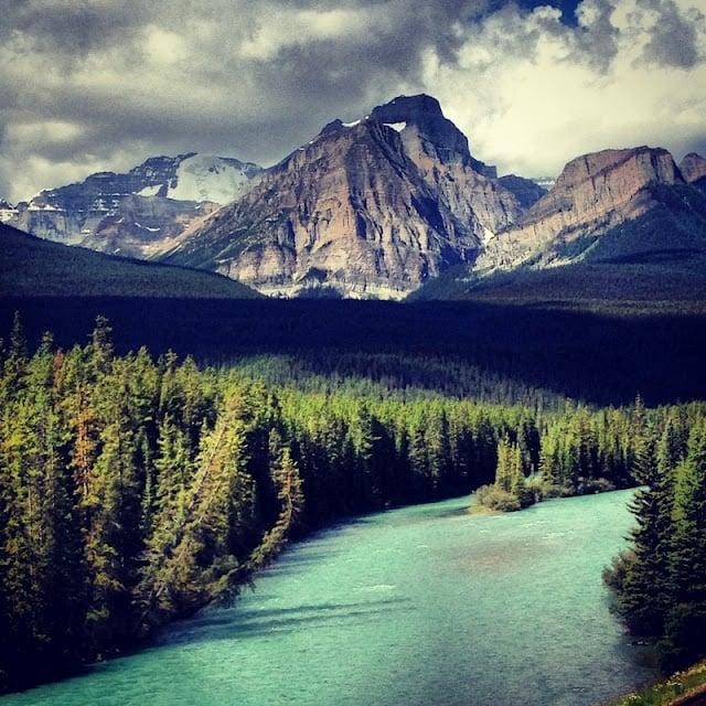 Bow River Parkway Alberta | BoulderLocavore.com