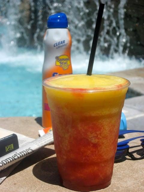 Mango Strawberry Tequila cocktail | BoulderLocavore.com