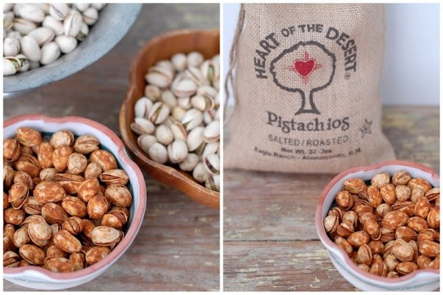 different types of pistachios
