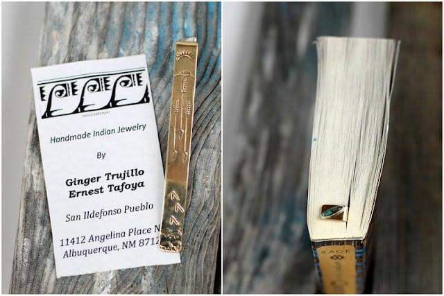native american metal bookmarks