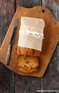 Pumpkin Roasted-Banana Quick Bread