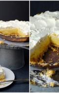 Lemon Chiffon Pie with Cornflake Crust | BoulderLocavore.com