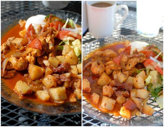 Saltado Breakfast in Taos, NM BoulderLocavore.com