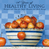 healthy living cookbook cover