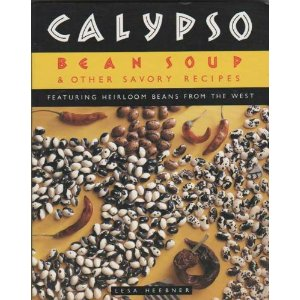 Calypso Bean Soup cookbook: Anasazi Bean and Roasted Chile Soup {recipe}