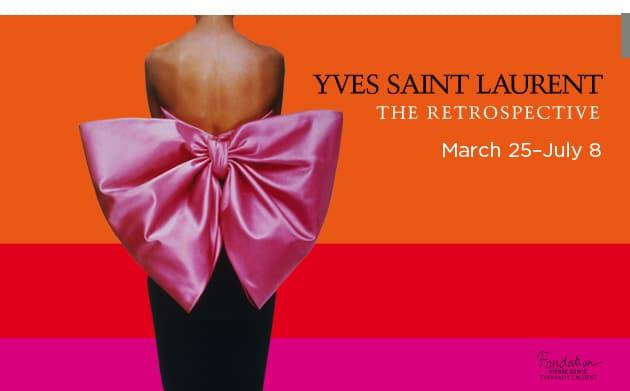 YSL exhibit at Denver Art Museum