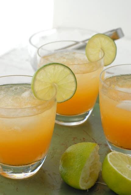 Fresh Peach Margaritas | www.boulderlocavore.com