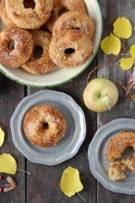 Gluten-Free Apple Cider Baked Donuts