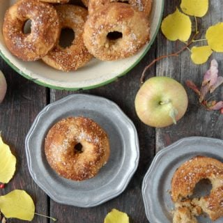 Gluten-Free Apple Cider Baked Donuts | BoulderLocavore.com