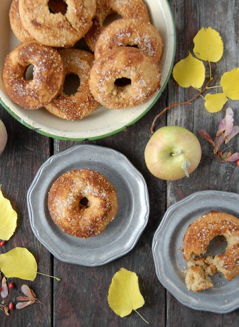 Baked Apple Cider Donut recipe (gluten free) and Picking Apples