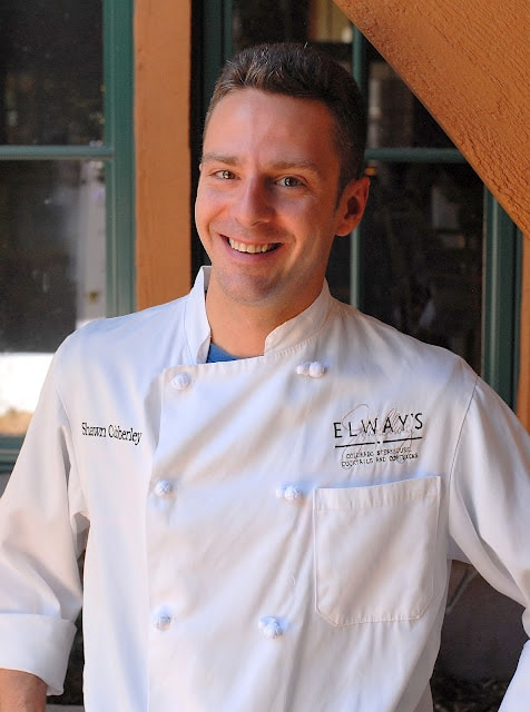 chef Shawn Cubberley at Elways Aspen