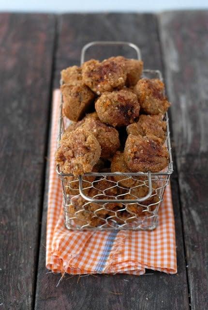 Mini spice muffins