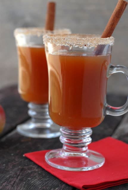 Mulled Apple Cider Cocktail BoulderLocavore.com