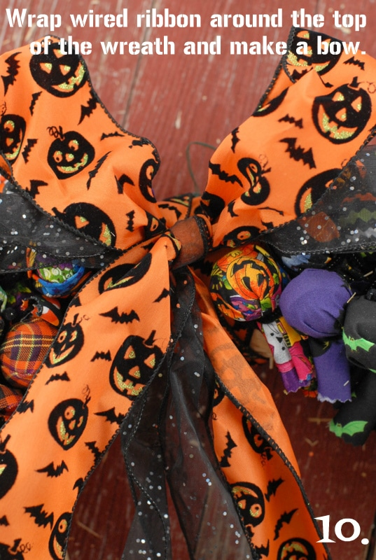 Halloween Treat Wreath | BoulderLocavore.com