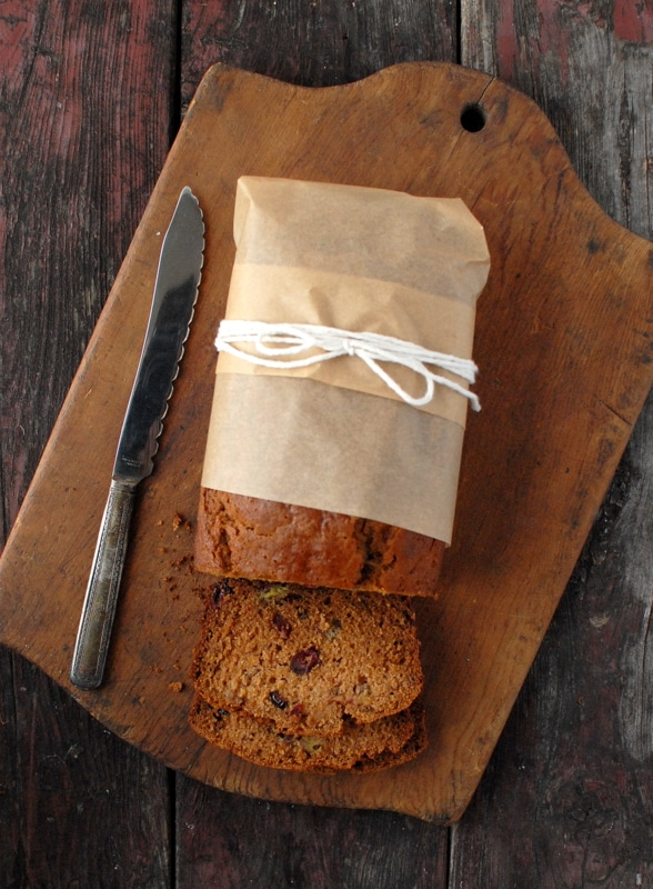 Pumpkin Roasted Banana Quick Bread | BoulderLocavore.com