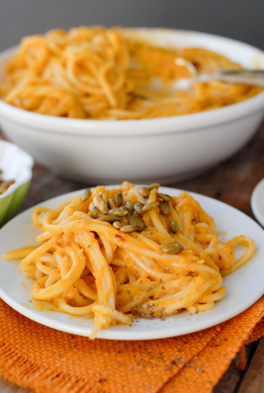 boulderlocavore.com pumpkin chipotle cream pasta sauce gluten free