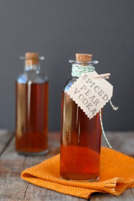 DIY Homemade Spiced Pear Vodka