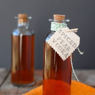 DIY Homemade Spiced Pear Vodka - BoulderLocavore.com