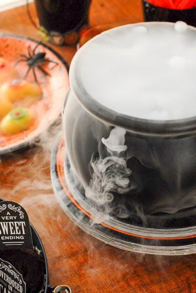 Graveyard Cupcakes Bubbling Cauldron - BoulderLocavore.com