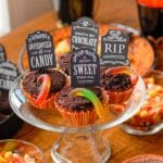 Graveyard Halloween Cupcakes: Favorite Halloween Party Recipe (+ VIDEO)