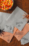 Great DIY Halloween Cocktail Napkins & some Spooky Brew!