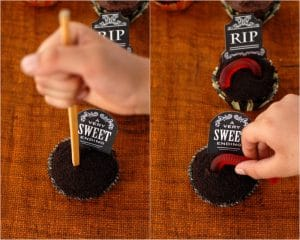 boulderlocavore.com graveyard cupcakes tutorial 3 collage