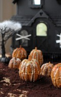 Rustic Mini Pumpkin Cakes