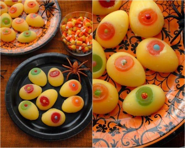 Edible eyeball treats from Spoonful (http://spoonful.com/recipes/edible-eyeball-treats)