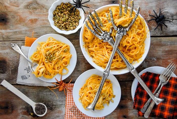 halloween dinner recipe idea