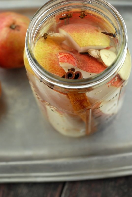 Homemade Spiced Pear Vodka | BoulderLocavore.com