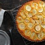 Seckel Pear Soft Shelled Creme Tart