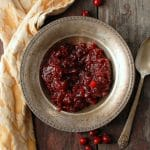 Reflections & Recipes for the Best Gluten Free Thanksgiving {Spicy Honey Cranberry Sauce}
