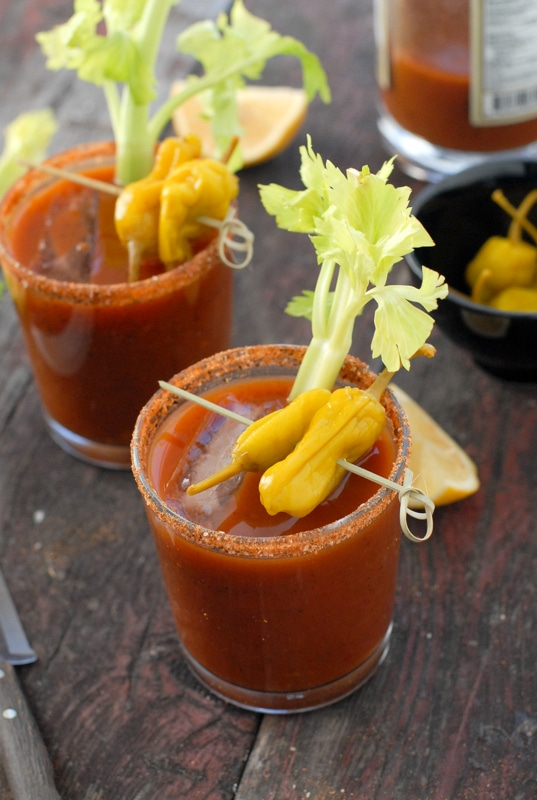 how to make bloody mary mix from scratch