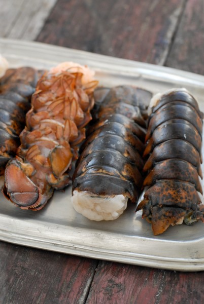 BoulderLocavore.com Lobster tails BoulderLocavore.com