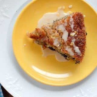 Bluebird Coffee Cake with Lemon Glaze BoulderLocavore.com