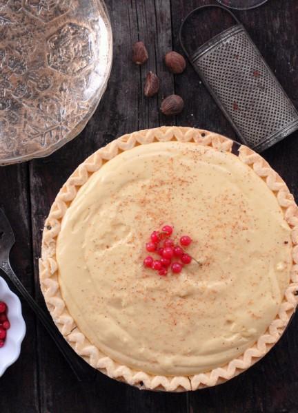 Eggnog Pie | BoulderLocavore.com