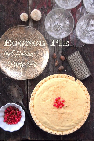 Eggnog Pie the Ultimate Holiday Pie - BoulderLocavore.com