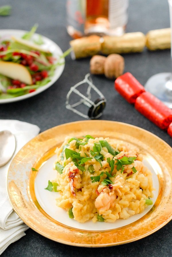 Lobster Risotto with Saffron and Haricot Vert BoulderLocavore.com