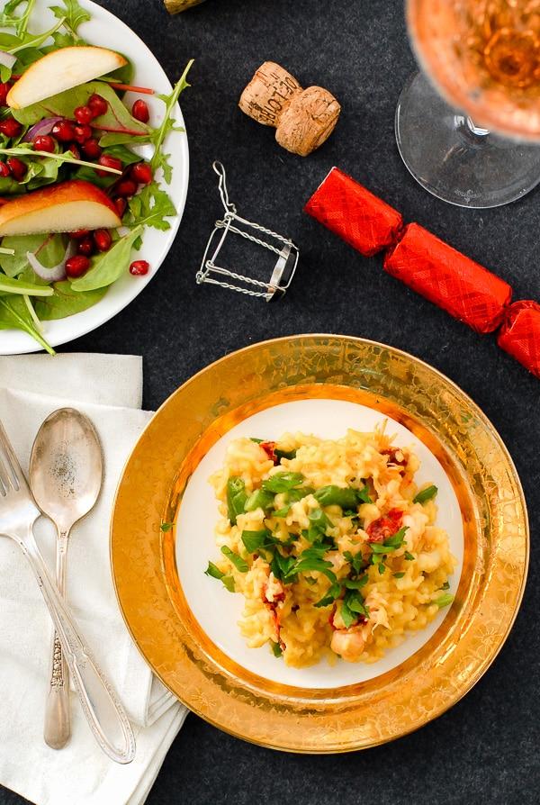 Lobster Risotto with Saffron and Haricot Vert    BoulderLocavore.com