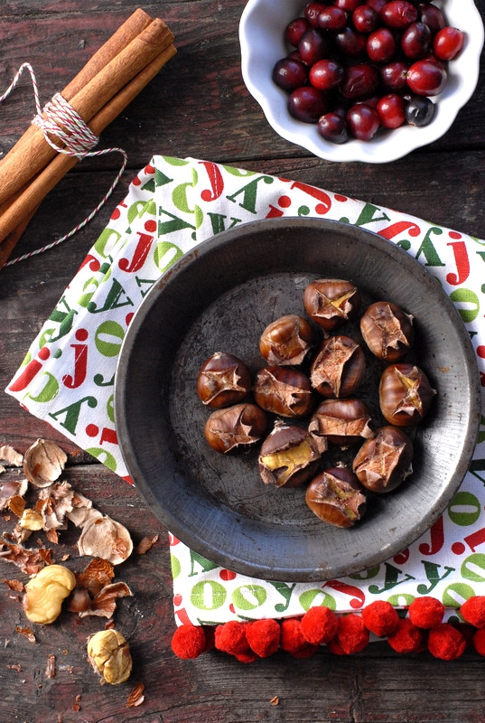 How to make Roasted Chestnuts | BoulderLocavore.com