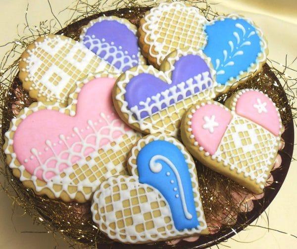 Lori's Place 'Crochet Heart Valentine Cookies'. Photo Credit: Lori's Place.