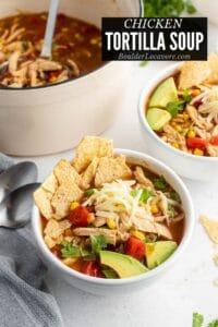 Chicken Tortilla Soup title