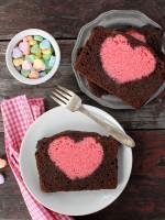 Valentines Heart Pound Cake BoulderLocavore.com