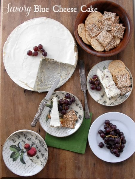 Savory Blue Cheese Cake  BoulderLocavore