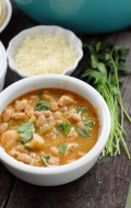 Spicy White  chicken Chili #gluten free  BoulderLocavore.com