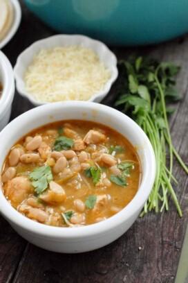Spicy White Chili gluten free BoulderLocavore.com