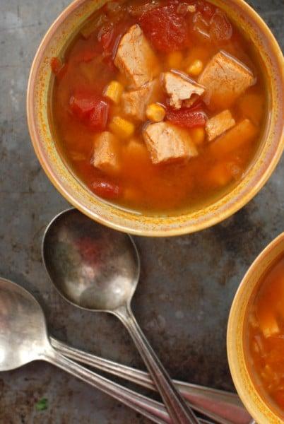 Turkey Tortilla Soup gluten-free BoulderLocavore.com