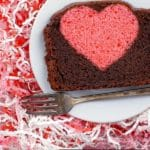 Hidden Heart Valentine's Pound Cake