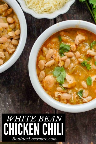 White Bean Chicken Chili title image